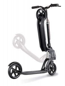 Globber adult one kick scooter folded