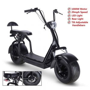 Rugged 48V 1000W Electric Fat Tire Scooter