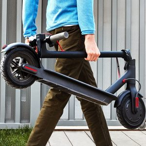 xiaomi mi electric scooter portability
