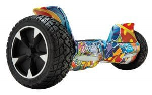 gotrax hoverfly hoverboard - colorful