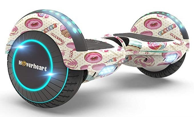 Hoverheart Hoverboard 2-Wheel Electric Self-Balancing Scooter