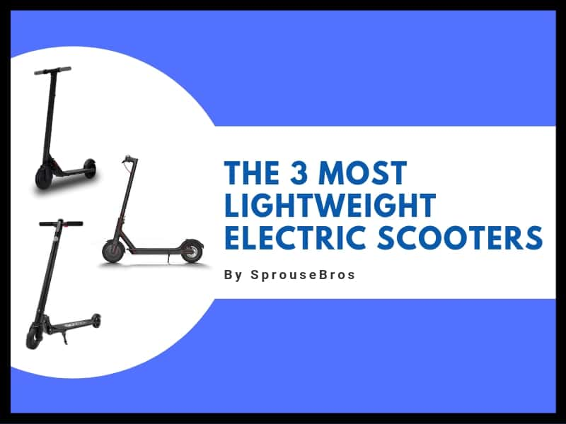light weight e-scooters header image