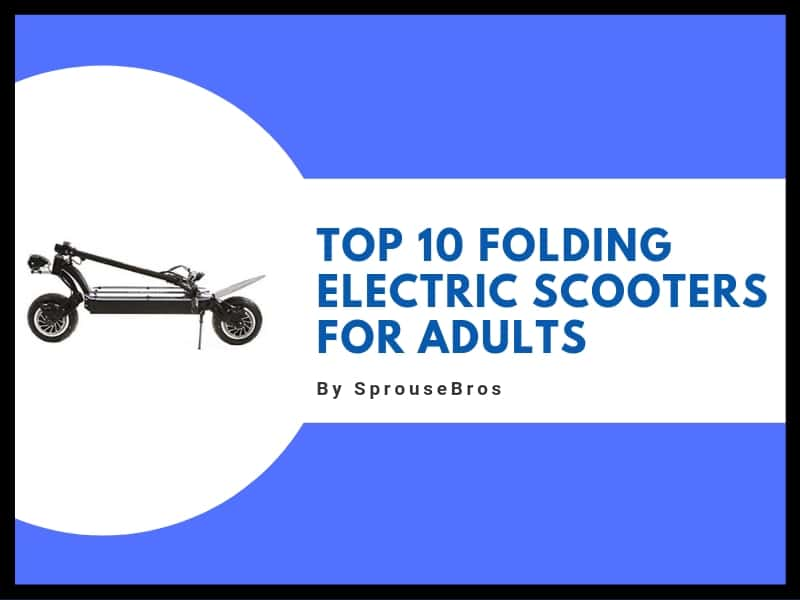 adults' folding scooter header image